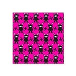 Pink Black Ninja Bunny Sticker