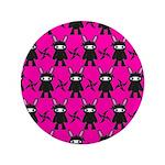 Pink Black Ninja Bunny 3.5