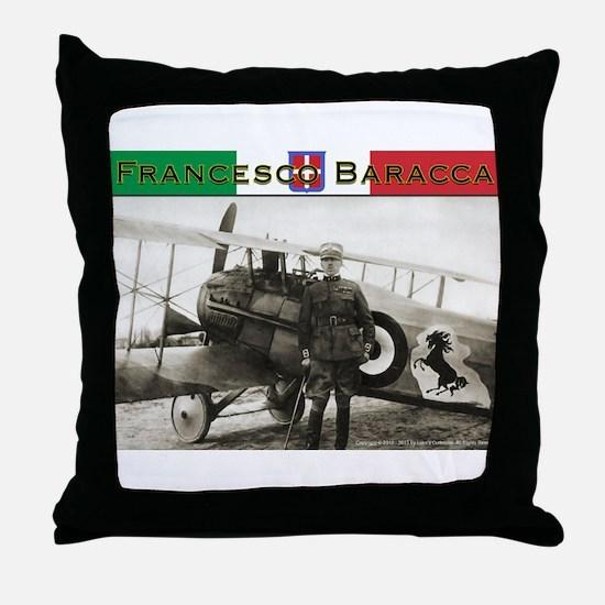 Francesco Baracca Throw Pillow