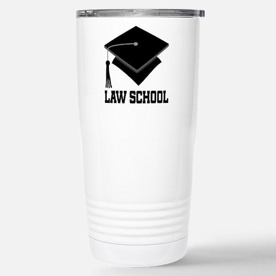 Law School Graduation Stainless Steel Travel Mug