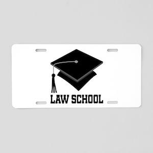 Law School Graduation Aluminum License Plate