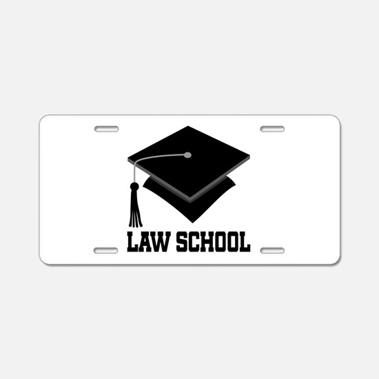 Law School Graduation Aluminum License Plate