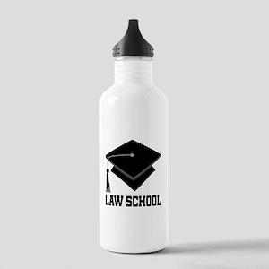 Law School Graduation Stainless Water Bottle 1.0L