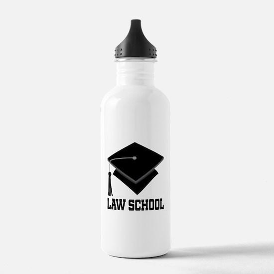 Law School Graduation Water Bottle