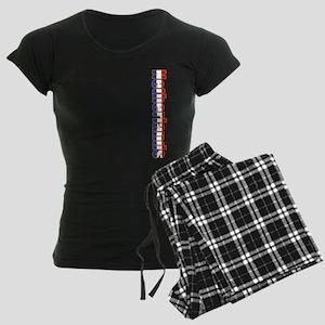 Netherlands Women's Dark Pajamas