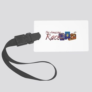 Amazing Race Large Luggage Tag