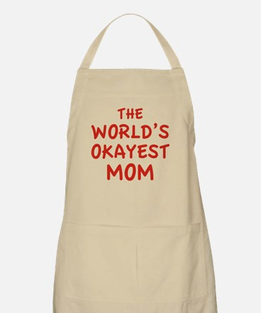 The World's Okayest Mom Apron