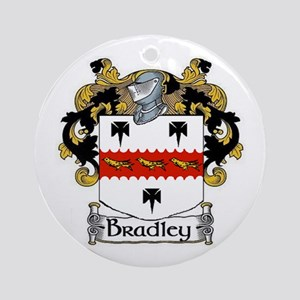 Bradley Coat of Arms Ornament (Round)
