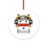 Bradley clan Round Ornaments