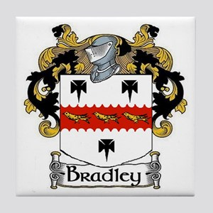 Bradley Coat of Arms Tile Coaster