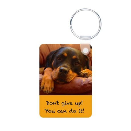 Dont Give Up Keychains