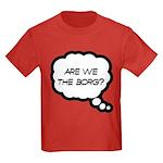 Are we the Borg? Kids Dark T-Shirt
