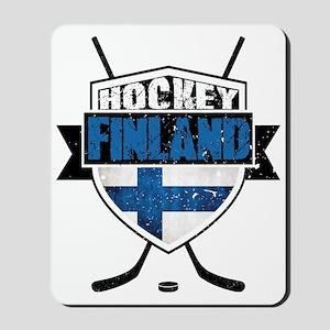 Suomi Finland Hockey Shield Mousepad