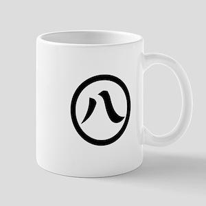 Kanji numeral eight in circle Mug