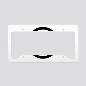 Kanji numeral eight in circle License Plate Holder