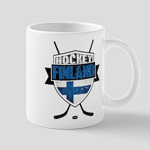 Suomi Finland Hockey Shield Mug