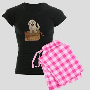 cat in box Women's Dark Pajamas