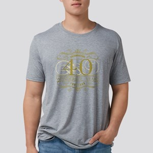 Celebrating 40th Anniversar Mens Tri-blend T-Shirt