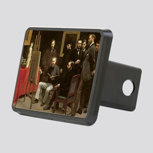 870 (oil on canvas) - Rectangular Hitch Cover