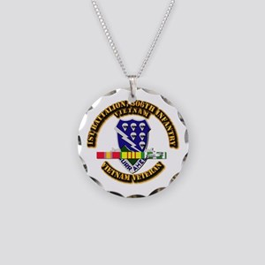 Army - 1st Battalion, 506th Infantry Necklace Circ