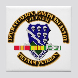 Army - 1st Battalion, 506th Infantry Tile Coaster