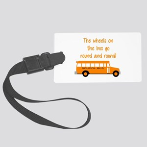 the wheels on the bus Luggage Tag