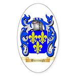 Burrough Sticker (Oval 10 pk)