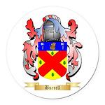 Burrell Round Car Magnet