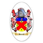 Burrell Sticker (Oval)