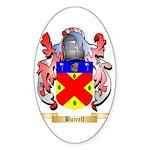 Burrell Sticker (Oval 50 pk)