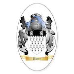 Burre Sticker (Oval 50 pk)