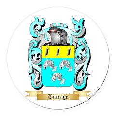 Burrage Round Car Magnet
