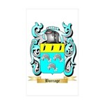 Burrage Sticker (Rectangle 50 pk)