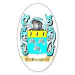 Burrage Sticker (Oval 10 pk)