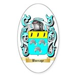 Burrage Sticker (Oval 50 pk)