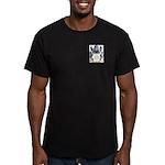 Burr Men's Fitted T-Shirt (dark)
