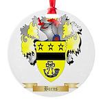 Burns Round Ornament