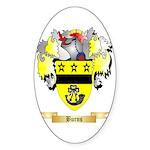 Burns Sticker (Oval 10 pk)
