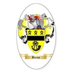 Burns Sticker (Oval 50 pk)
