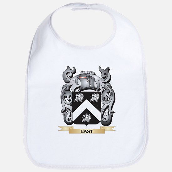 East Coat of Arms - Family Crest Baby Bib