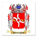 Burningham Square Car Magnet 3