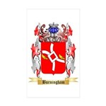 Burningham Sticker (Rectangle 50 pk)