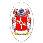 Burningham Sticker (Oval 50 pk)