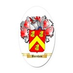 Burnham Oval Car Magnet