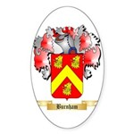 Burnham Sticker (Oval 10 pk)