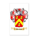 Burnham 20x12 Wall Decal