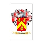 Burnham 35x21 Wall Decal