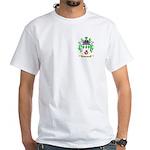 Burnett White T-Shirt
