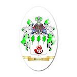 Burnett 35x21 Oval Wall Decal