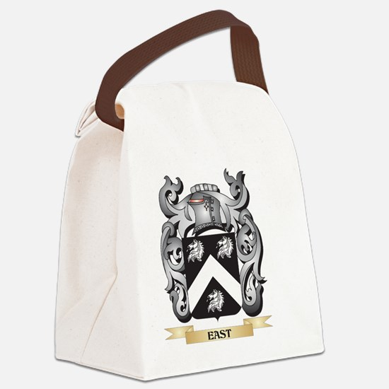East Coat of Arms - Family Crest Canvas Lunch Bag